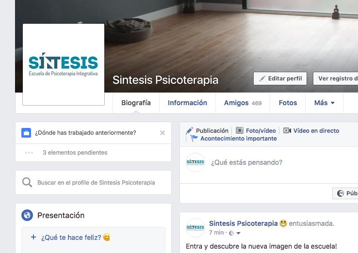 facebook síntesis